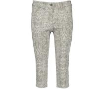Jeans khaki / weiß