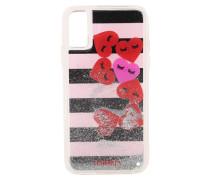 Smartphonehülle für das Apple iPhone X 'Hearts Stripes'
