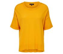 Strickshirt gelb