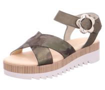Sandalen dunkelgrau / khaki