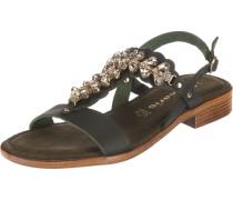 Sandalen dunkelgrün