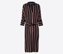 Kleid '12018' grenadine / schwarz