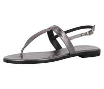 Sandale 'olimpia' silbergrau