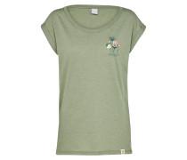 T-Shirt 'Posy Tee' oliv