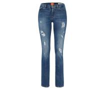 Regular Jeans 'Orange J30' im Used-Look