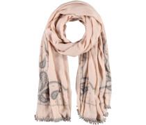 Polyester-Schal beige / puder