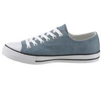 Sneaker blue denim / weiß