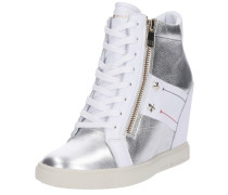 Sneaker 'tommy wedge sneaker' weiß