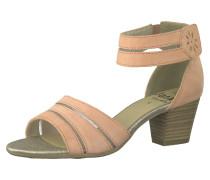 Klassische Sandaletten apricot