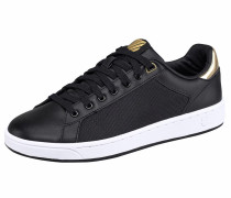 Sneaker 'Clean Court CMF W' gold / schwarz