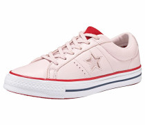 Sneaker 'one Star OX' rosa / hellrot