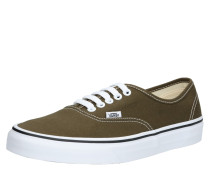 Sneaker 'UA Authentic' oliv / weiß
