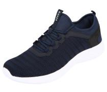 Sneaker Low navy / schwarz / weiß
