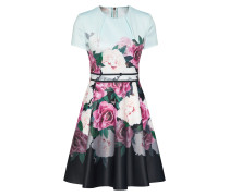 Kleid 'wilmana' mint / rosa / dunkelpink