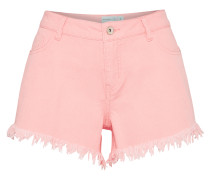 'Frayed Hem' Shorts pastellpink