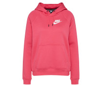 Sweatshirt 'rally' pink / weiß