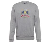 Sweatshirt 'Crest' grau