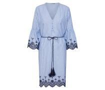 Kleid 'Tammy' blau / weiß