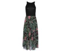 Sommerkleid mischfarben / schwarz