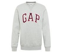 Sweatshirt 'arch Crew' blau / grau / rot