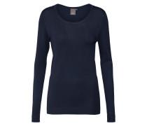 Pullover 'mafa O LS' dunkelblau