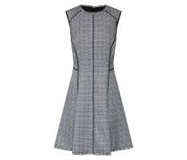 Kleid 'slvls' grau / schwarz