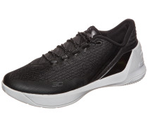 Basketballschuh 'Curry 3 Low' schwarz