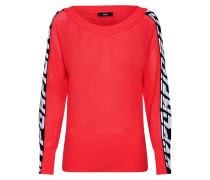 Pullover 'm-Nancy Knitwear' pink / rot