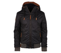 Winterjacke 'Gingerbread Man' schwarz