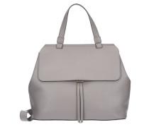Adria Handtasche Leder 32 cm grau
