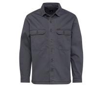 Hemd 'workwear Overshirt' dunkelgrau