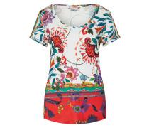 Shirt 'ts_Leonor' mischfarben / weiß