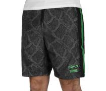 Shorts schwarz / grün