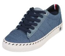 Sneaker im Canvas-Look blau