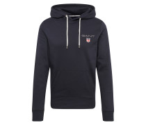 Sweatshirt 'medium Shield Hoodie' schwarz
