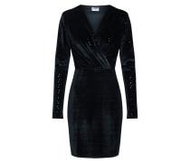 Kleid 'nmuriela L/S Short Dress' schwarz