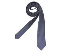 Krawatte ' Slim ' blau