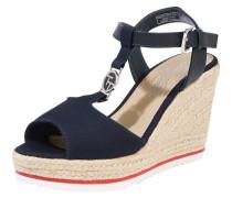 Sandale navy / beige