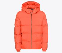 Daunenjacke orange