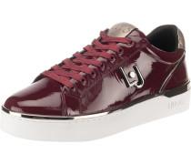 Sneakers 'Silvia 01' camel / kirschrot