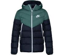 Jacke dunkelblau / grün