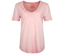 T-Shirt Vneck altrosa