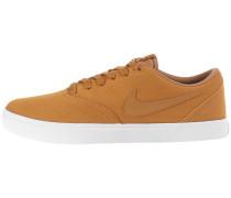 Sneaker 'Check Solar' karamell