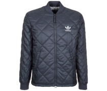 Quilted Superstar Jacke Herren blau