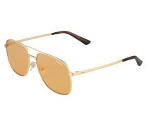 Sonnenbrille im Piloten-Design
