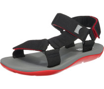 Sandale 'Match' schwarz