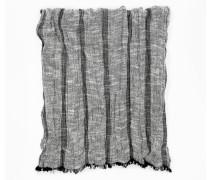 Schal graumeliert / schwarz / dunkelgrau