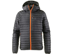 Jacke 'essens' orange / schwarz
