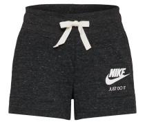 Shorts 'Vintage' schwarzmeliert