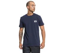 Stage Box T-Shirt taubenblau